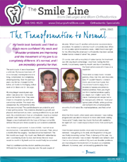 delurgio and blom orthodontics newsletter april 2015