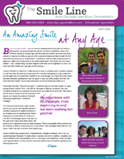 delurgio and blom orthodontics newsletter july 2015