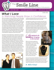 delurgio and blom orthodontics newsletter june 2014