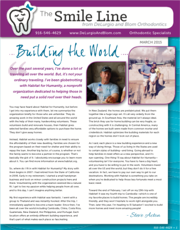 delurgio and blom orthodontics newsletter march 2015