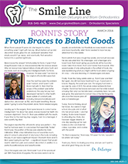 delurgio and blom orthodontics newsletter march 2016