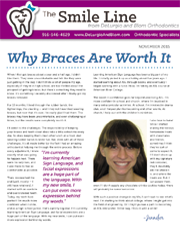 delurgio and blom orthodontics newsletter november 2015