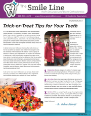 delurgio and blom orthodontics newsletter october 2014