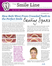 delurgio and blom orthodontics newsletter october 2015