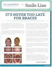 delurgio and blom orthodontics newsletter june 2018